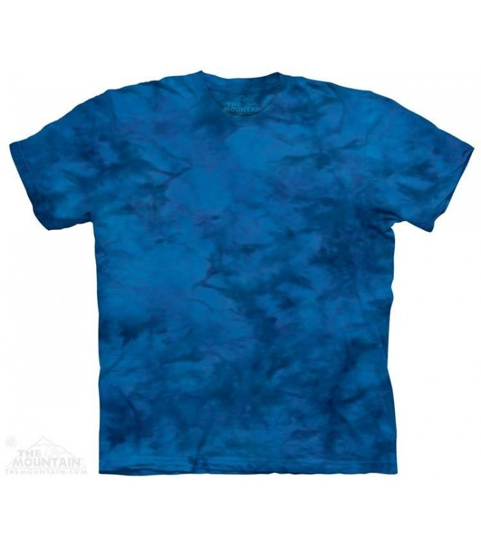 Blue Ray - Mottled Dye T Shirt The Mountain