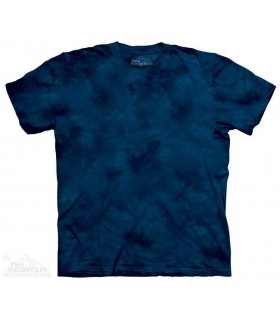 IndigoX2 - Mottled Dye T Shirt The Mountain