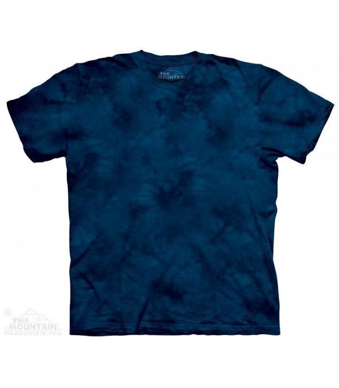 IndigoX2 - Mottled Dye T Shirt The Mountain