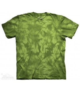 Dynamic Green - Mottled Dye T Shirt The Mountain