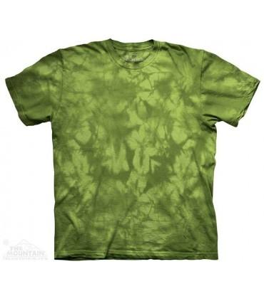 Dynamic Green - Mottled Dye T Shirt The Mountain