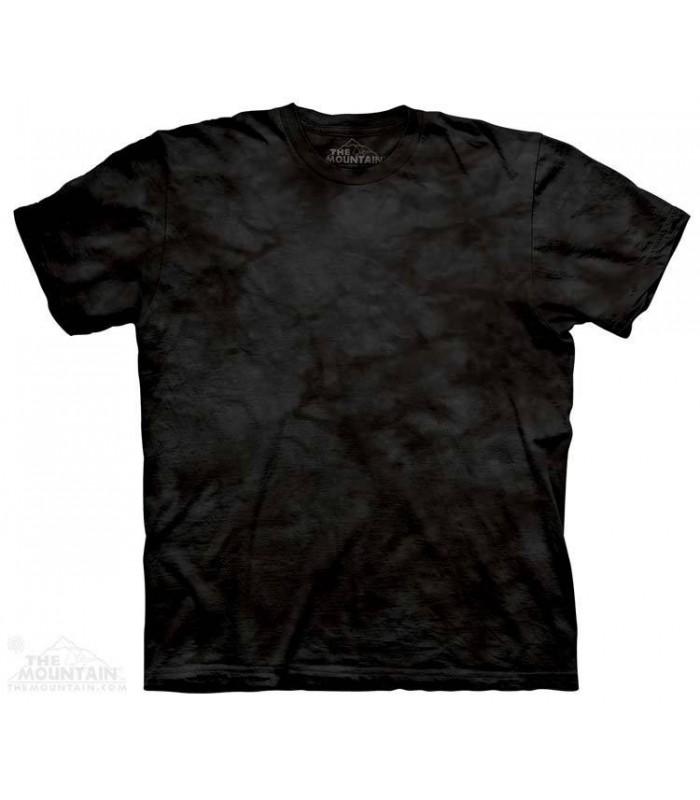 Black - Mottled Dye T Shirt The Mountain