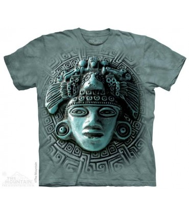 Mayan Mandala - Spiritual T Shirt The Mountain