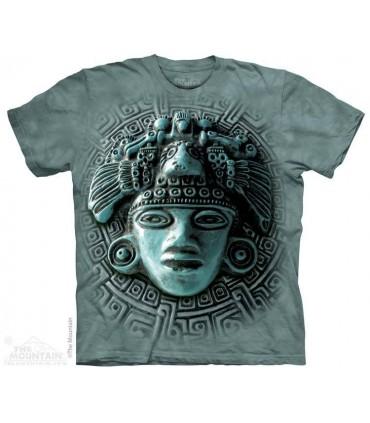 Mayan Mandala - Spiritual T Shirt The Mountain