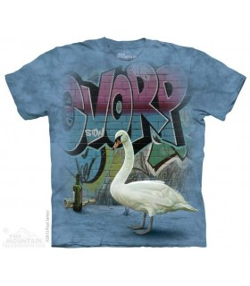 Cygne des rues - T-shirt Streetwear The Mountain