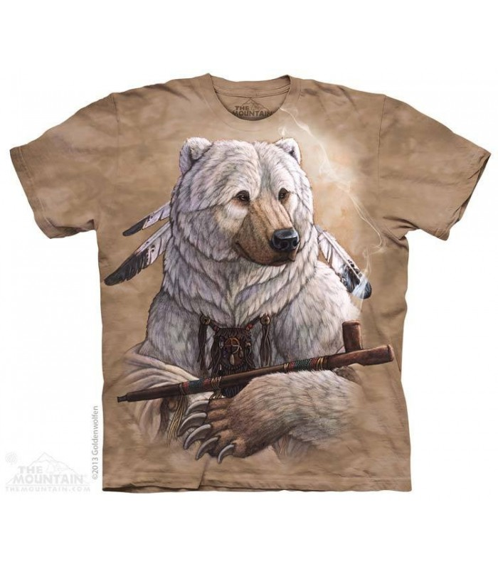 Bear of Peace - Native American T Shirt The Mountain