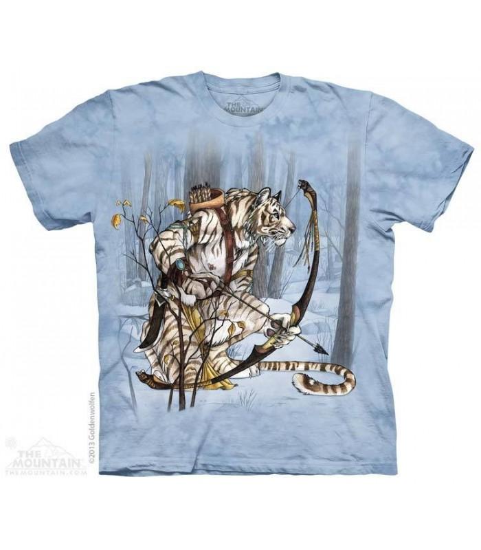 Spirit Hunter - Native American T Shirt The Mountain
