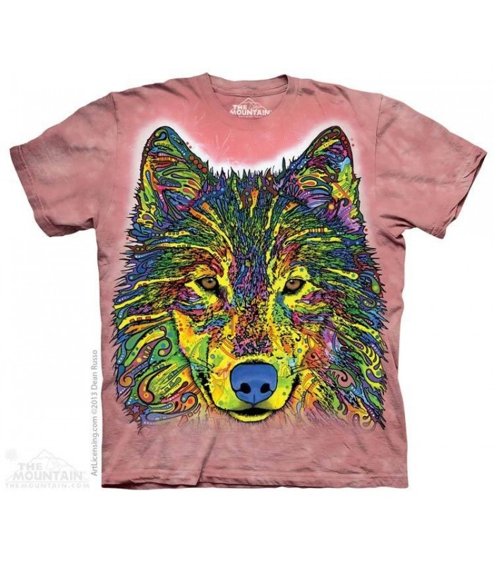 Loup Russe - T-shirt animal The Mountain
