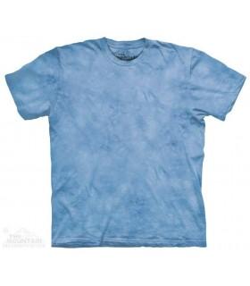 Blue Dawn - Mottled Dye T Shirt The Mountain