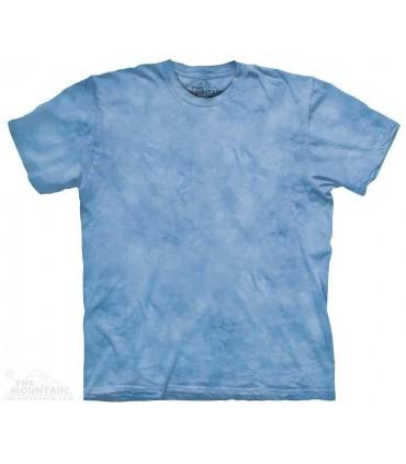 Aube Bleu - T-shirt Dye tacheté The Mountain