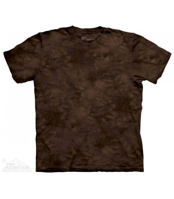 Browl - T-shirt Dye tacheté The Mountain
