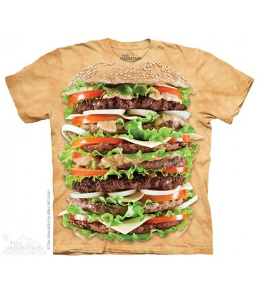 Burger Epique - T-shirt nourriture The Mountain