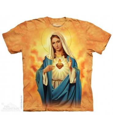 Immaculate Heart - ReligiousT Shirt The Mountain