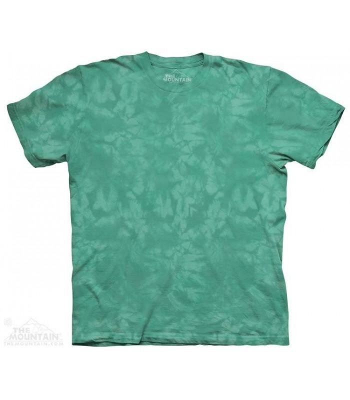 Teal - Mottled Dye T Shirt The Mountain