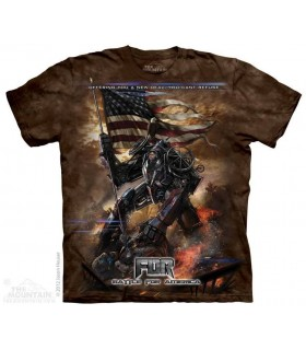 FDR New Deal - T-shirt science fiction The Mountain