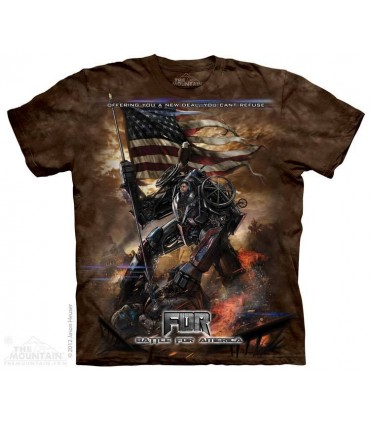 FDR New Deal - Sci-Fi T Shirt The Mountain