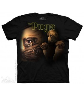 The Pugs - Dog T Shirt The Mountain