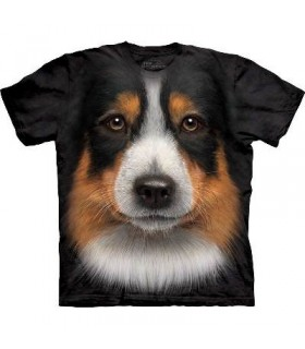 Australian Shepherd - Dogs T Shirt by the Mountain