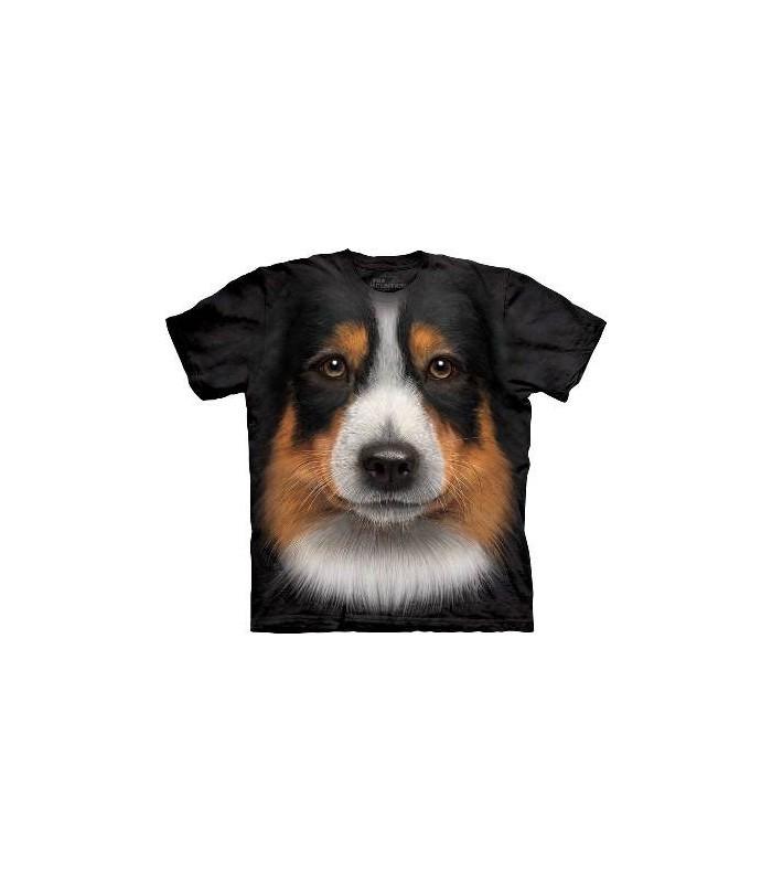 Australian Shepherd - Dogs T Shirt by the Mountain