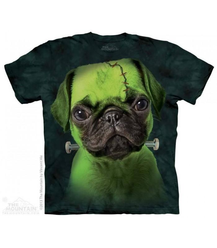 Franken Pug - Dog T Shirt The Mountain