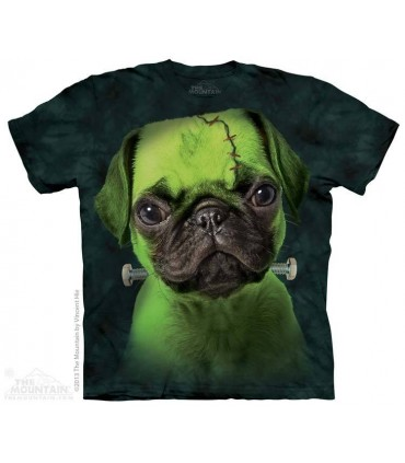 Franken Pug - Dog T Shirt The Mountain