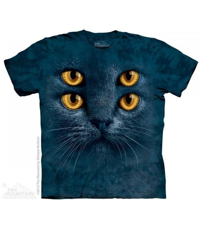Big Face Four Eyes - Cat T Shirt The Mountain