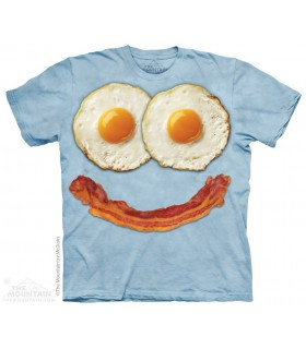 Egg Face - Food T Shirt The Mountain