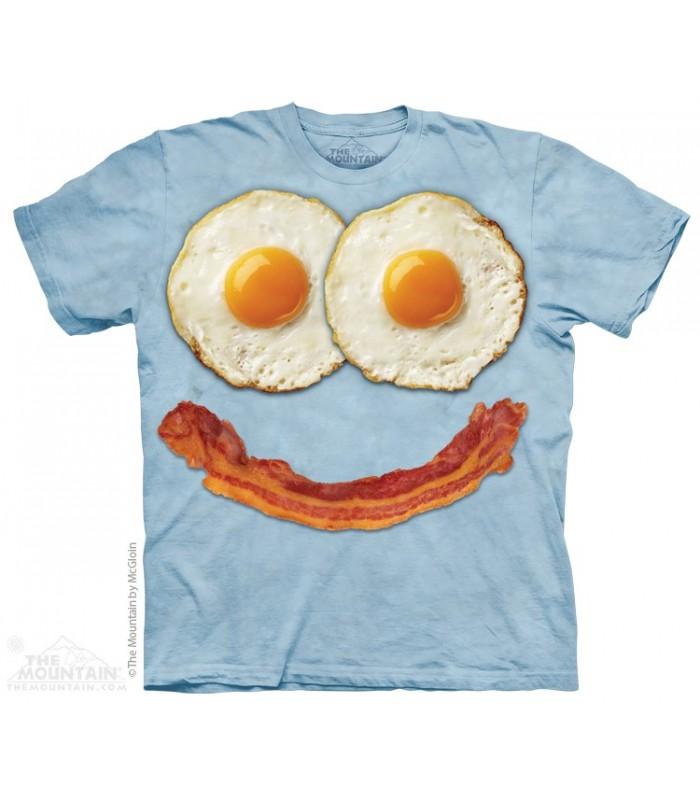Tête d'oeuf - T-shirt nourriture The Mountain