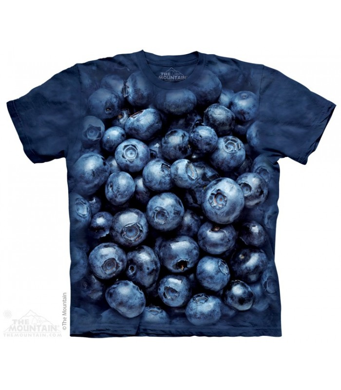 Blueberries - Food T Shirt The Mountain
