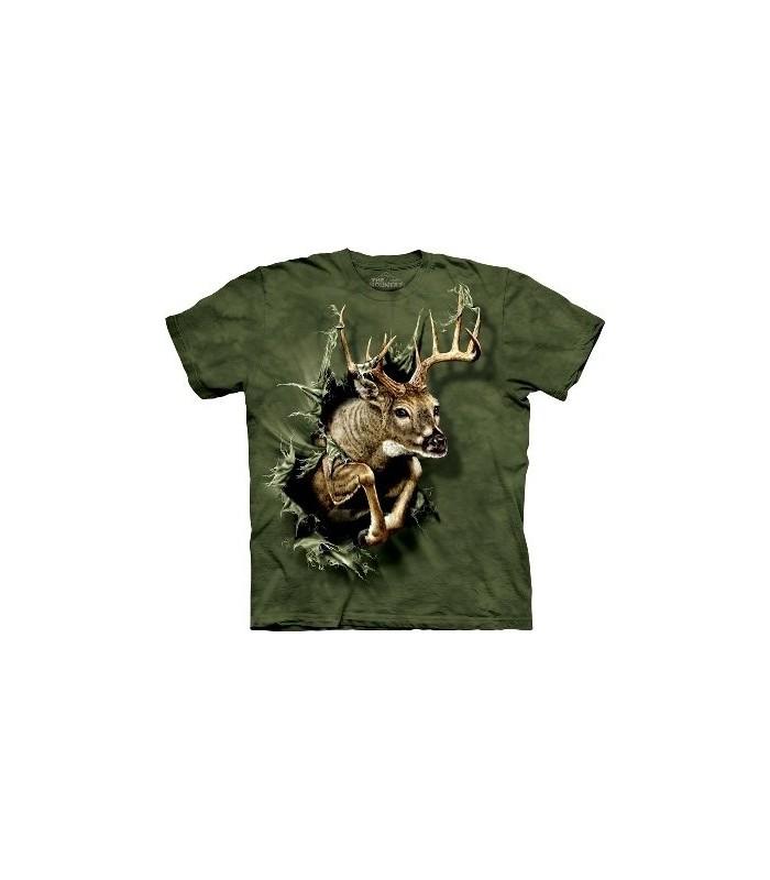 T-Shirt Breakthrough Deer par The Mountain