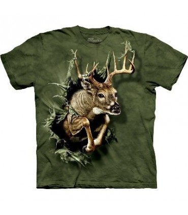 Breakthrough Deer - Zoo Animals T Shirt by the Mountain