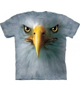 T-Shirt tête d'Aigle par The Mountain