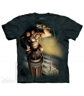 King Kong - T-shirt Gorille The Mountain