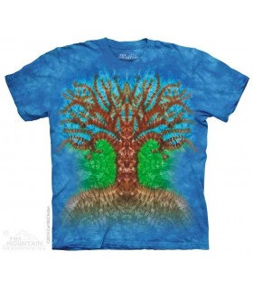 T-shirt Arbre Tie-Dye The Mountain