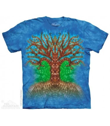 Tie Dye Tree - T Shirt The Mountain