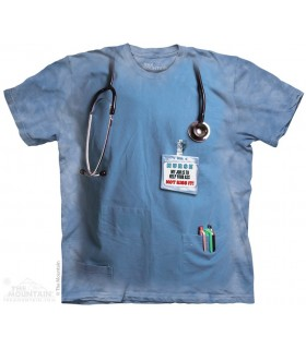 Nurses Job - Humorous T Shirt The Mountain