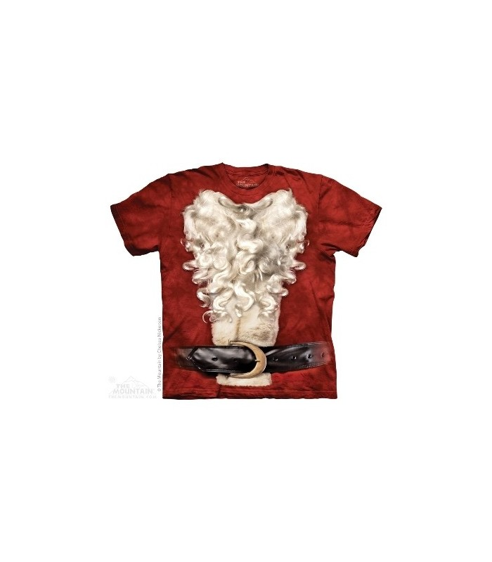 Santa Suit - Christmas T Shirt The Mountain