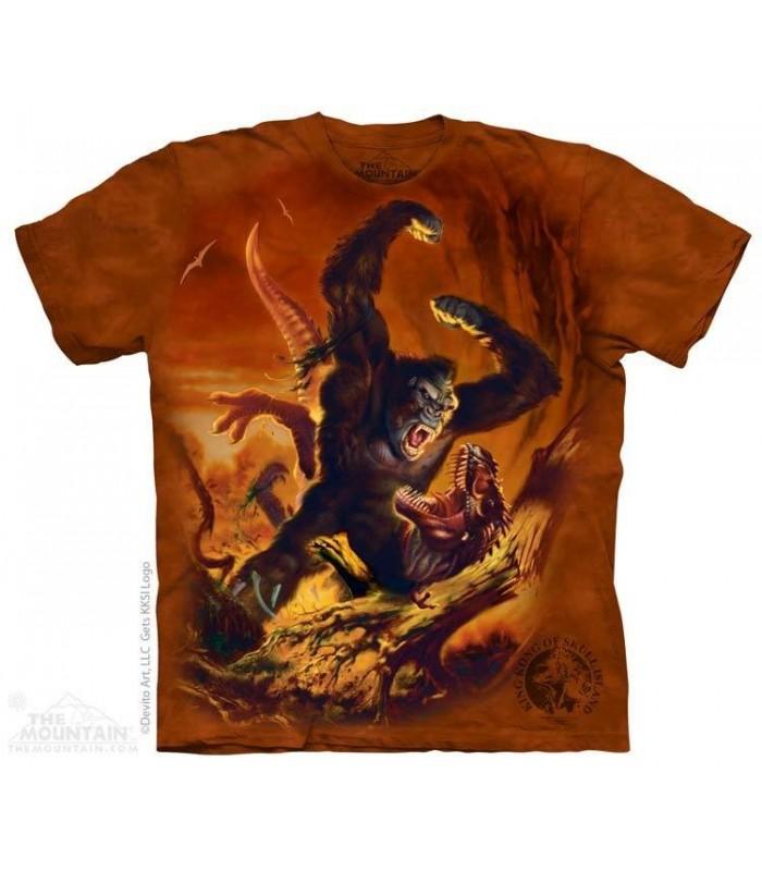 Kong Furieux - T-shirt dinosaure The Mountain