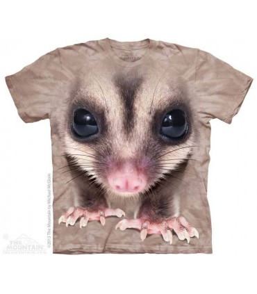 Big Face Sugar Glider - Animal T Shirt The Mountain