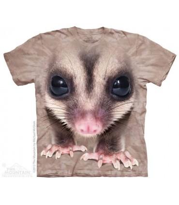 Big Face Sugar Glider - Animal T Shirt The Mountain