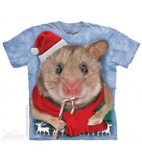 T-shirt Souris de Noël The Mountain