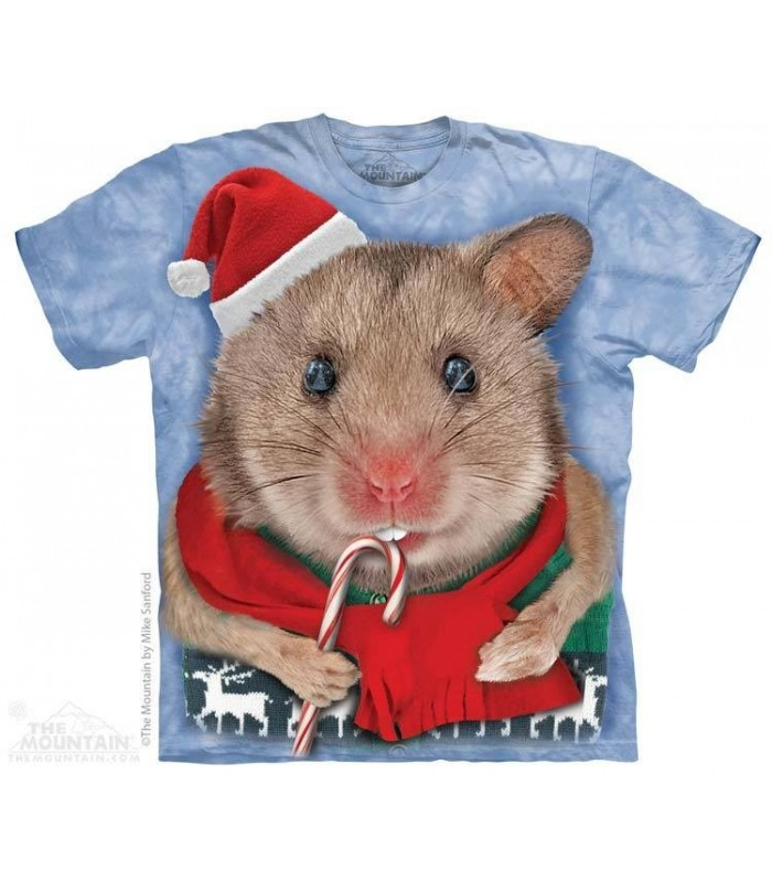 T-shirt Souris de Noël The Mountain