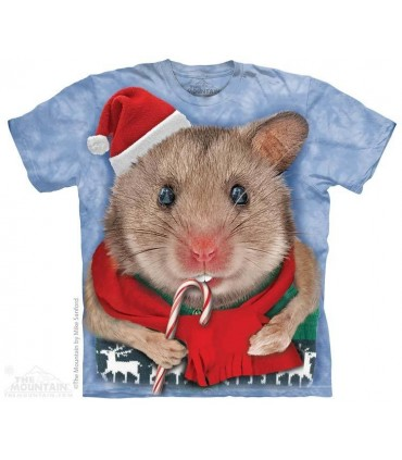 Christmas Mouse - Christmas T Shirt The Mountain