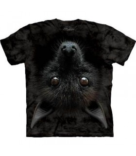 Bat Head - Animal T Shirt Mountain
