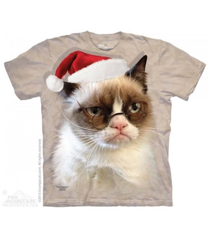 T-shirt Chat Grincheux de Noël The Mountain