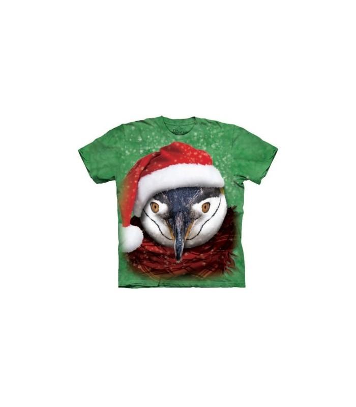 Pingouin Frileux - T-shirt Noël The Mountain