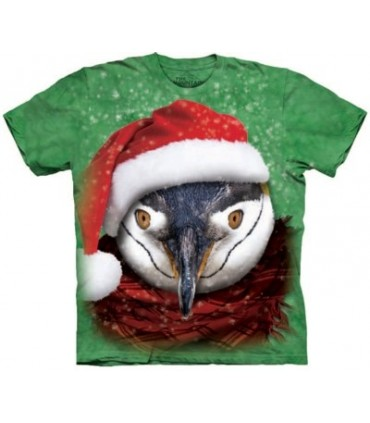 Chilly Penguin - Christmas T-Shirt The Mountain