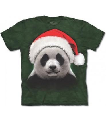 T-shirt Panda Père Noël The Mountain