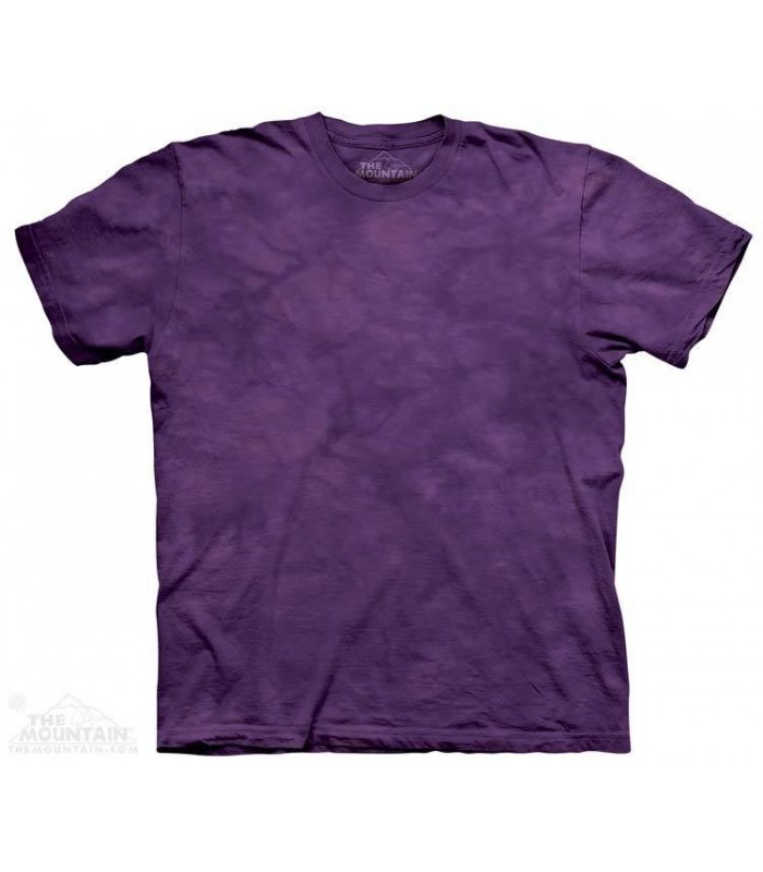 Lilas - T-shirt Tacheté Dye The Mountain