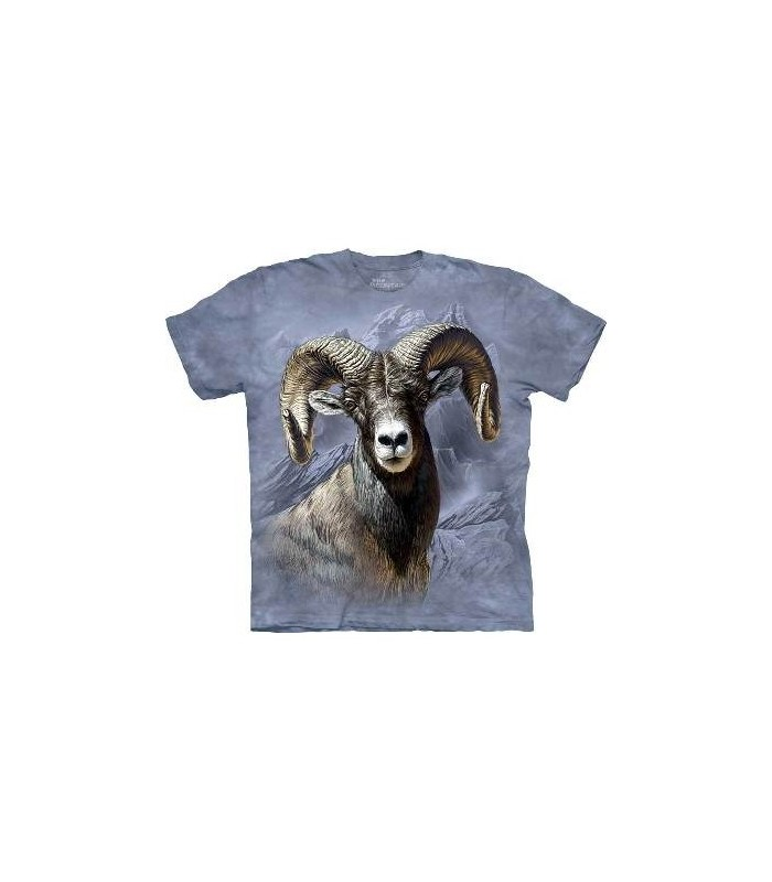 Big Horn Sheep - Animals T Shirt by the Mountain